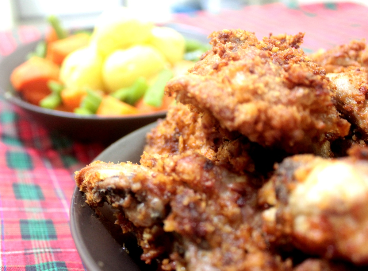 Fried-Chicken-Veggie-Bites