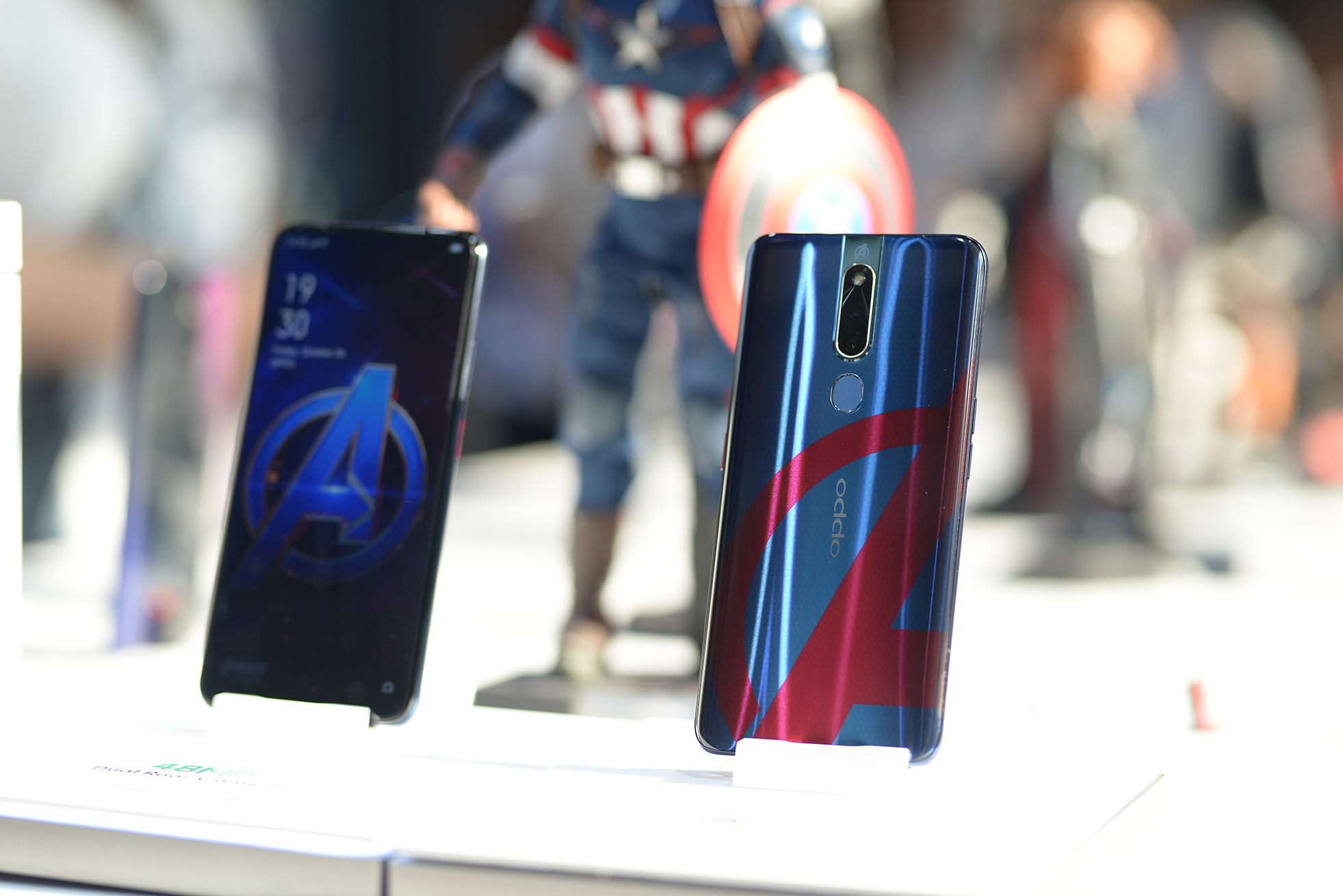 OPPO launched the new F11 Pro Marvel's Avengers limited edition smartphone at the Bonifacio High Street, April 26.