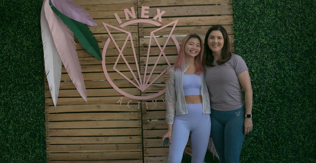 INEX ACTIVE, a new line of workout gear, was launched last October 23, 2019, at the Mindful Movement Asia Pilates Studio, Bonifacio Global City, Taguig.
